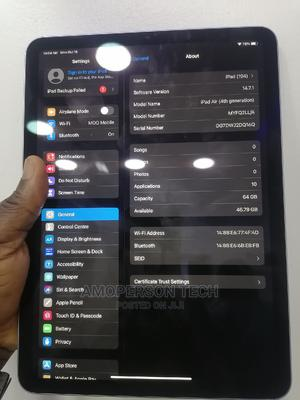 Apple iPad Air (2020) Wi-Fi 64 GB Blue | Tablets for sale in Lagos State, Ikeja