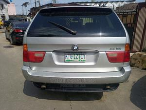 BMW X5 2002 3.0D Automatic Silver | Cars for sale in Lagos State, Surulere