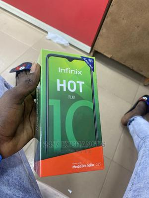 New Infinix Hot 10 Play 64 GB Blue | Mobile Phones for sale in Oyo State, Ibadan
