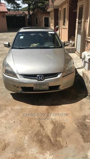 Honda Accord 2004 2.4 Type S Automatic Gold | Cars for sale in Abuja (FCT) State, Kubwa