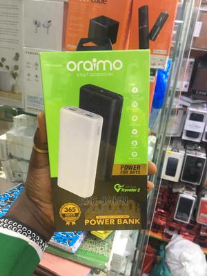 Oraimo Traveler-2 20000mah 2.1A Fast Charging Power Bank   Accessories for Mobile Phones & Tablets for sale in Lagos State, Ikeja
