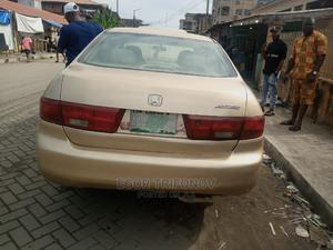 Honda Accord 2005 2.0 Comfort Automatic Gold   Cars for sale in Lagos State, Apapa