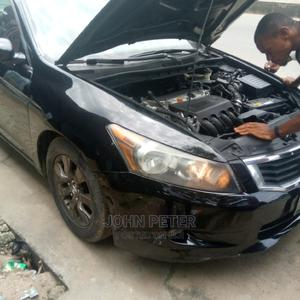 Honda Accord 2009 2.0 I-Vtec Automatic Black   Cars for sale in Rivers State, Port-Harcourt