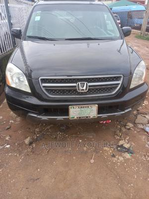 Honda Pilot 2004 EX 4x4 (3.5L 6cyl 5A) Black | Cars for sale in Lagos State, Alimosho