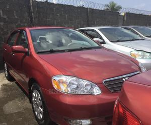 Toyota Corolla 2004 Red | Cars for sale in Lagos State, Ikeja