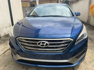 Hyundai Sonata 2015 Blue | Cars for sale in Lagos State, Ajah