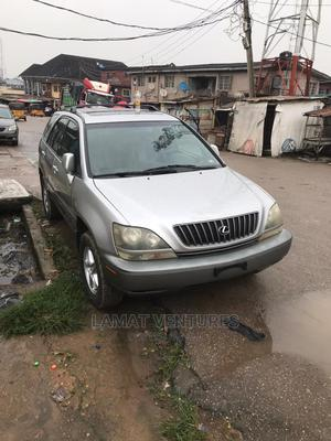 Lexus RX 2001 300 4WD Silver   Cars for sale in Lagos State, Ikeja