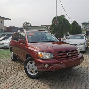 Toyota Highlander 2004 Limited V6 FWD Red | Cars for sale in Lagos State, Ilupeju