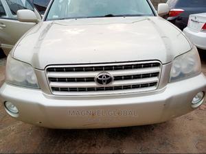 Toyota Highlander 2003 Limited V6 FWD Gold   Cars for sale in Lagos State, Ikeja