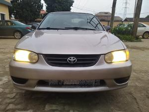 Toyota Corolla 2001 Sedan Gold | Cars for sale in Lagos State, Isolo