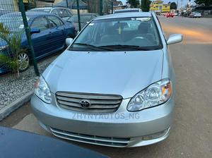 Toyota Corolla 2003 Sedan Automatic Silver | Cars for sale in Lagos State, Ipaja
