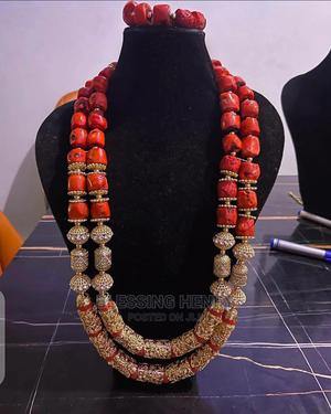 Original Coral Beaded Jewelry Set | Jewelry for sale in Lagos State, Alimosho