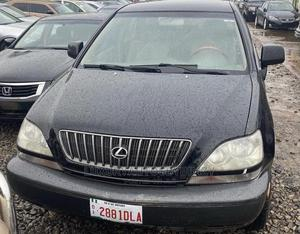Lexus RX 2002 300 2WD Black | Cars for sale in Lagos State, Ogba