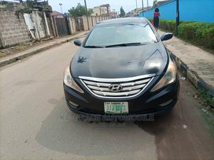Hyundai Sonata 2012 Black   Cars for sale in Lagos State, Ifako-Ijaiye