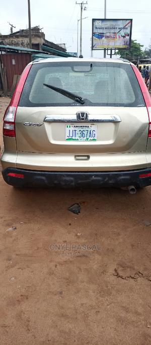 Honda CR-V 2007 LX Automatic Gold | Cars for sale in Anambra State, Idemili