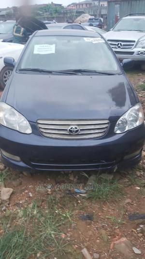 Toyota Corolla 2004 Sedan Blue   Cars for sale in Lagos State, Egbe Idimu