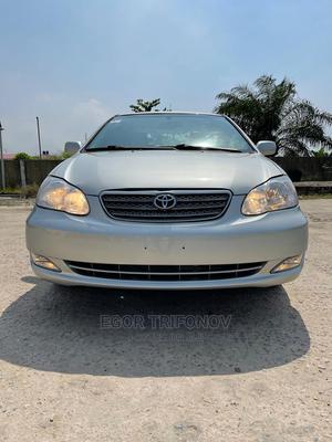 Toyota Corolla 2003 Sedan Automatic Silver | Cars for sale in Lagos State, Ojo