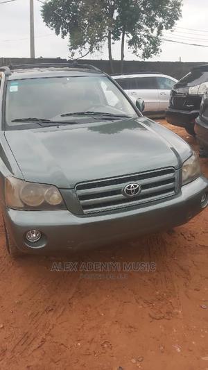 Toyota Highlander 2004 Green | Cars for sale in Lagos State, Egbe Idimu