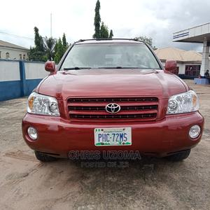 Toyota Highlander 2005 Red | Cars for sale in Imo State, Owerri