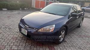 Honda Accord 2004 2.4 Type S Automatic Blue   Cars for sale in Lagos State, Yaba