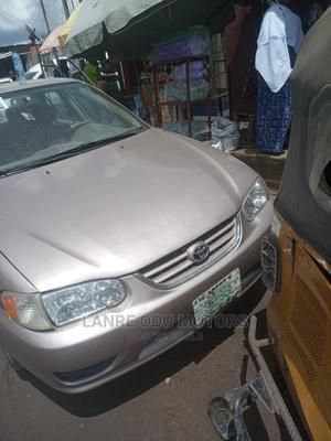 Toyota Corolla 2001 Sedan Gold | Cars for sale in Lagos State, Agege