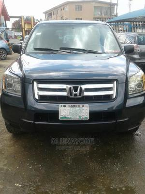 Honda Pilot 2006 EX-L 4x4 (3.5L 6cyl 5A) Gray | Cars for sale in Lagos State, Ifako-Ijaiye