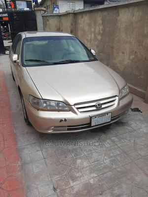 Honda Accord 2000 Coupe Gold   Cars for sale in Lagos State, Surulere