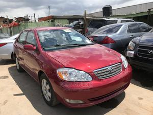 Toyota Corolla 2007 Red   Cars for sale in Lagos State, Ikeja