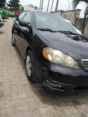 Toyota Corolla 2005 LE Black   Cars for sale in Lagos State, Ikeja