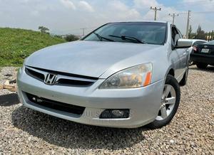 Honda Accord 2007 Sedan EX-L Automatic Silver | Cars for sale in Abuja (FCT) State, Gudu