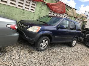 Honda CR-V 2004 2.0i ES Automatic Blue | Cars for sale in Lagos State, Ikeja
