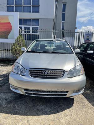 Toyota Corolla 2003 Sedan Automatic Silver | Cars for sale in Lagos State, Surulere