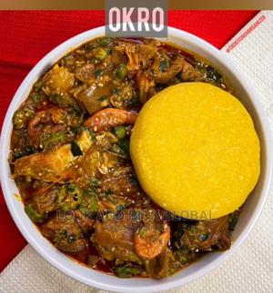 Freshly Prepared Okro And Uha Swallow Available Anyday Time | Meals & Drinks for sale in Abuja (FCT) State, Wuse 2