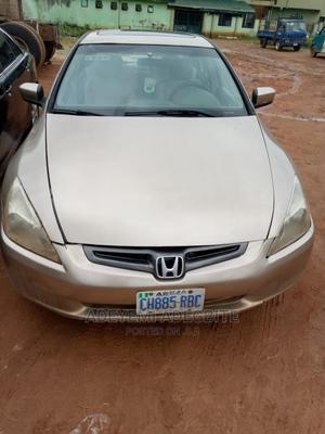 Honda Accord 2003 2.4 Automatic Gold | Cars for sale in Lagos State, Alimosho