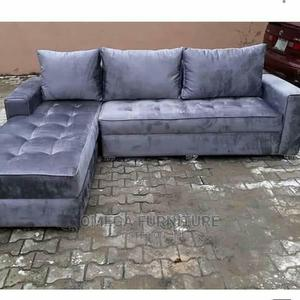 Gray Colored L-Shape Chairs   Furniture for sale in Lagos State, Ajah
