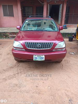 Lexus RX 2000 300 4WD Red | Cars for sale in Anambra State, Onitsha