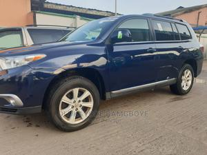 Toyota Highlander 2012 Limited Blue | Cars for sale in Lagos State, Magodo
