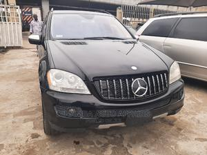 Mercedes-Benz M Class 2007 ML 350 4Matic Black   Cars for sale in Lagos State, Surulere