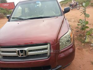 Honda Pilot 2006 EX 4x4 (3.5L 6cyl 5A) Red | Cars for sale in Lagos State, Egbe Idimu
