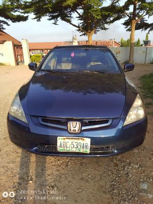 Honda Accord 2005 Automatic Blue   Cars for sale in Abuja (FCT) State, Central Business District