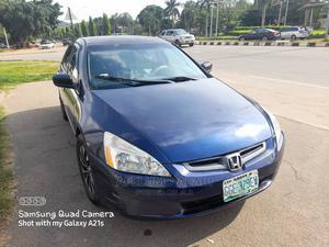 Honda Accord 2005 Sedan EX Automatic Blue | Cars for sale in Abuja (FCT) State, Bwari
