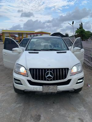 Mercedes-Benz M Class 2009 ML350 AWD 4MATIC White   Cars for sale in Lagos State, Isolo