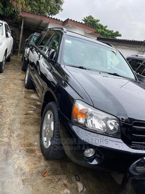 Toyota Highlander 2005 V6 4x4 Black   Cars for sale in Lagos State, Ikeja