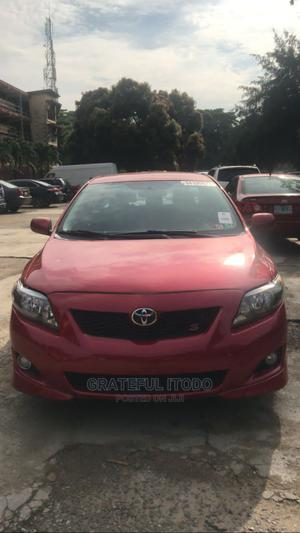 Toyota Corolla 2010 Red   Cars for sale in Lagos State, Yaba