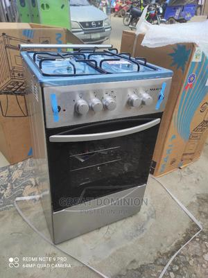Maxi 50*50 3gas +1 Electric Cooker+Oven+Lamp+Auto Ignition | Kitchen Appliances for sale in Lagos State, Ojo