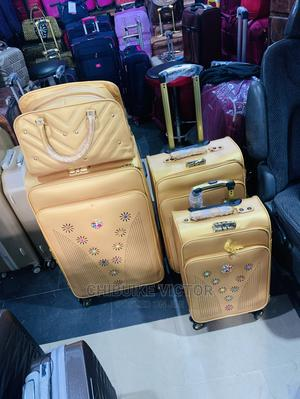 Quality Set of Leather Traveling Bag   Bags for sale in Lagos State, Oshodi