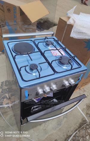 ^ Maxi 50*50 3gas +1 Electric Cooker+Oven+Lamp+Auto Ignition | Kitchen Appliances for sale in Lagos State, Ojo