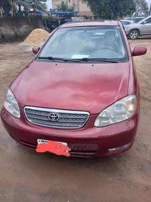 Toyota Corolla 2006 LE Red   Cars for sale in Akwa Ibom State, Uyo