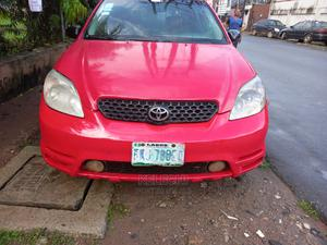 Toyota Matrix 2004 Red   Cars for sale in Lagos State, Ogba
