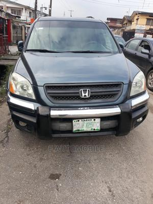 Honda Pilot 2005 EX 4x4 (3.5L 6cyl 5A) Blue | Cars for sale in Lagos State, Yaba